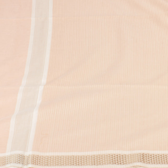 Sarangi Handwoven Maheshwari Silk-Cotton Saree - 1403760TTO
