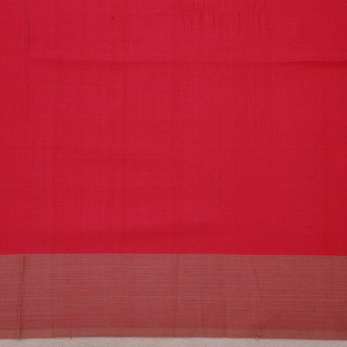Sarangi Handwoven Maheshwari Silk-Cotton Saree - 1404124PIN