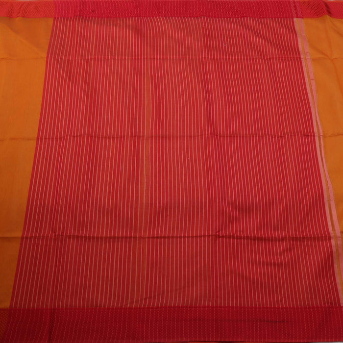 Sarangi Handwoven Maheshwari Silk-Cotton Saree - 1405085MUS