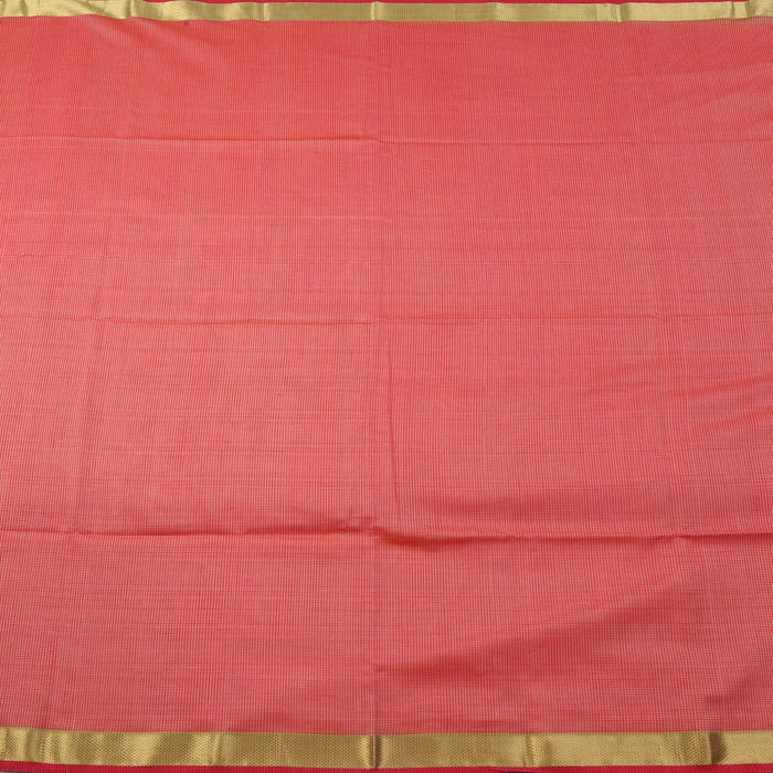 Sarangi Handwoven Maheshwari Silk-Cotton Saree - 1405091PIN