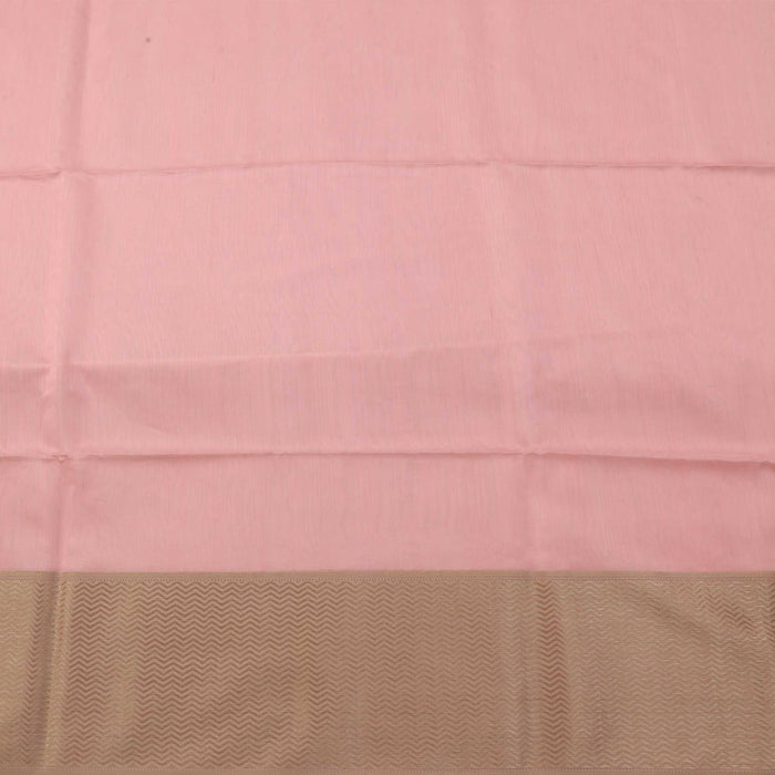 Sarangi Handwoven Maheshwari Silk-Cotton Saree - 1405094PIN