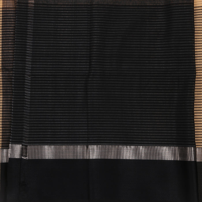 Sarangi Handwoven Maheshwari Silk-Cotton Saree - 1405235SAN