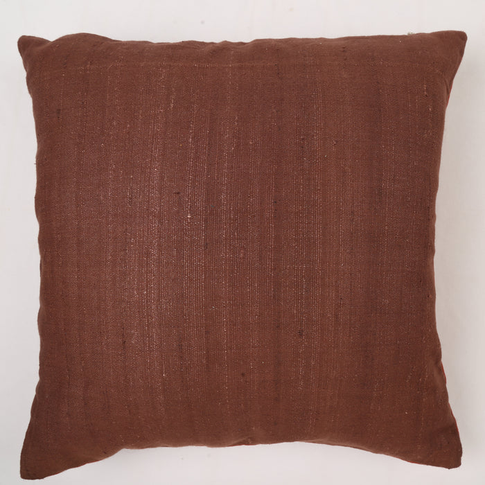 Sarangi Handwoven Reversible Cushion Cover - 1505372BRO