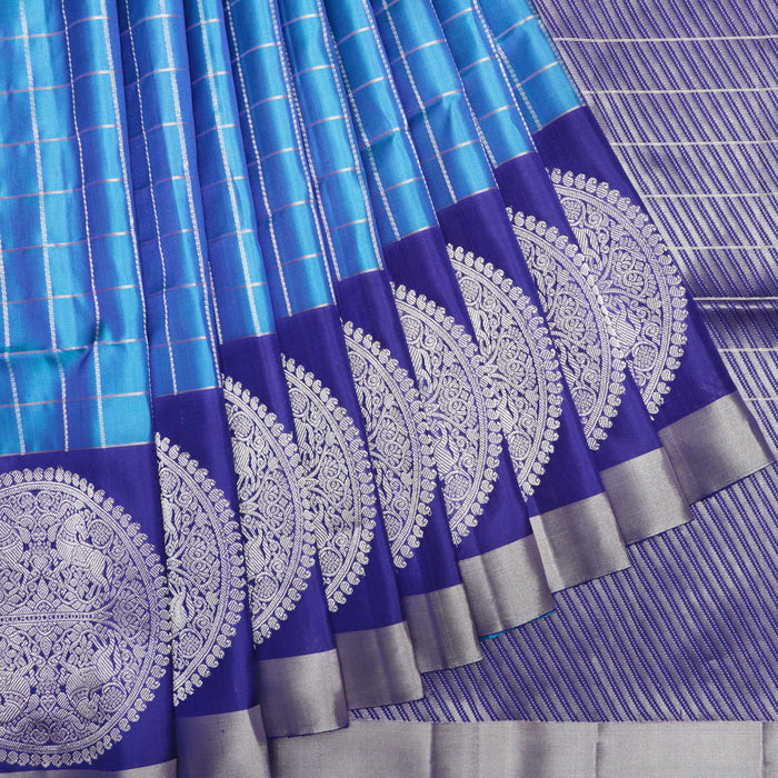 Handwoven Soft Silk Saree - 3 MPT931