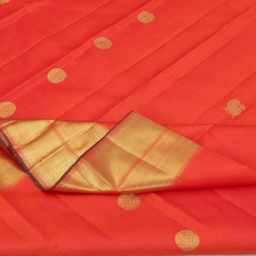 (THE IMPERFECTS) Sarangi Handwoven Kanjivaram Silk Sari - 960129125