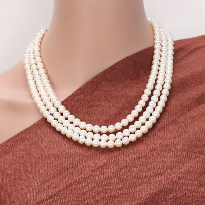 Ishavati Pearl Necklace by Banswari BJM118