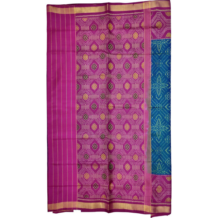 Handwoven Patola Silk Saree - cs2/061813/950011
