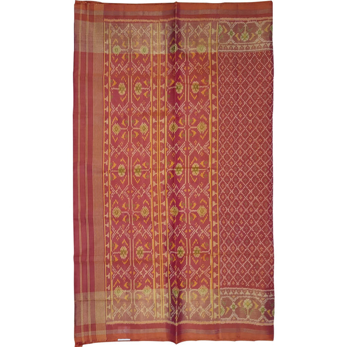 Handwoven Patola Silk Saree - CS1/020216/90004