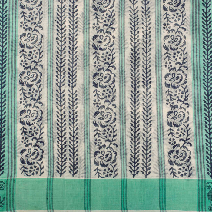 Sarangi Handwoven Cotton Saree - 1275621OWH