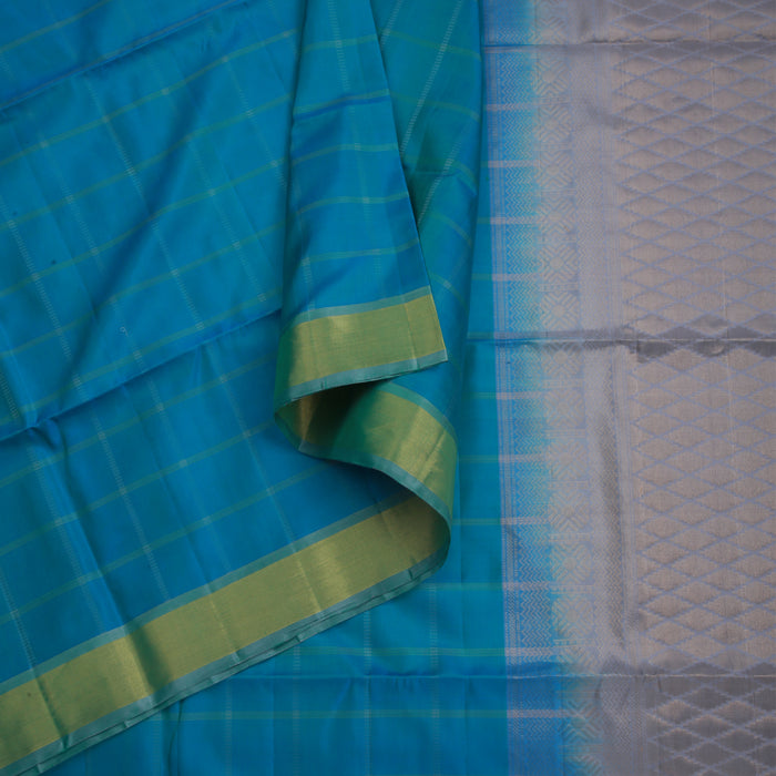 Handwoven Soft Silk Saree - CBE654