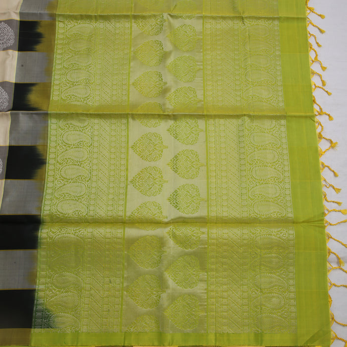 Handwoven Soft Silk Saree - 1 SCP047