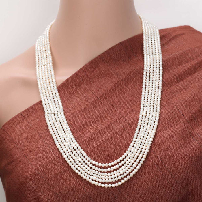 Sinalia Pearl Necklace by Banswari BJM120