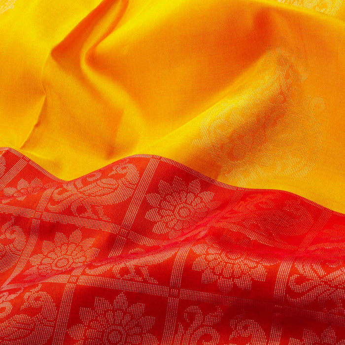 Handwoven Soft Silk Saree - KVC6108