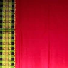 Sarangi Handwoven Silk-Cotton Sari - 1363235PIN