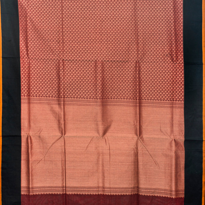 Sarangi Handwoven Kanchi Cotton Saree - 1575737MAR
