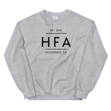 Load image into Gallery viewer, HFA Unisex Sweatshirt