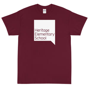Heritage Elementary Bubble Short Sleeve T-Shirt