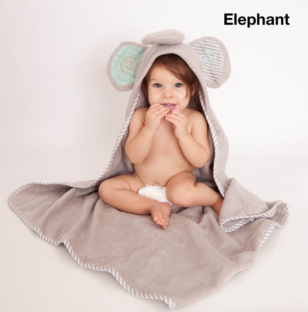 Personalized Hooded Towel in Assorted Animal Styles