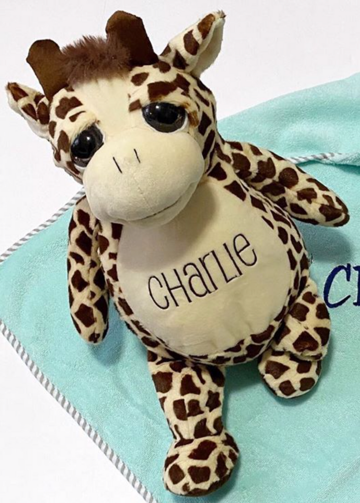 Personalized Plush Stuffed Animal Buddy - Assorted Styles