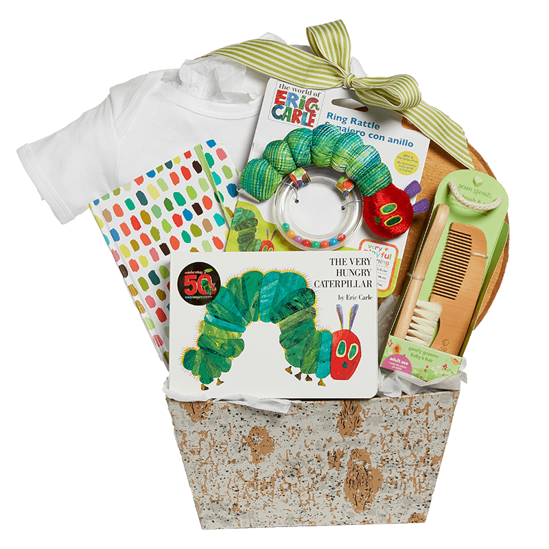 Very Hungry Caterpillar Gift Basket