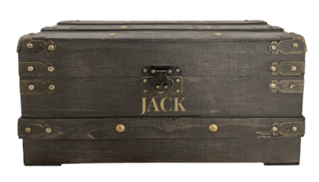 Wooden Chest Personalized Keepsake