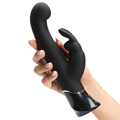 Rabbit vibrator-Fifty Shades Greedy Girl Rechargeable