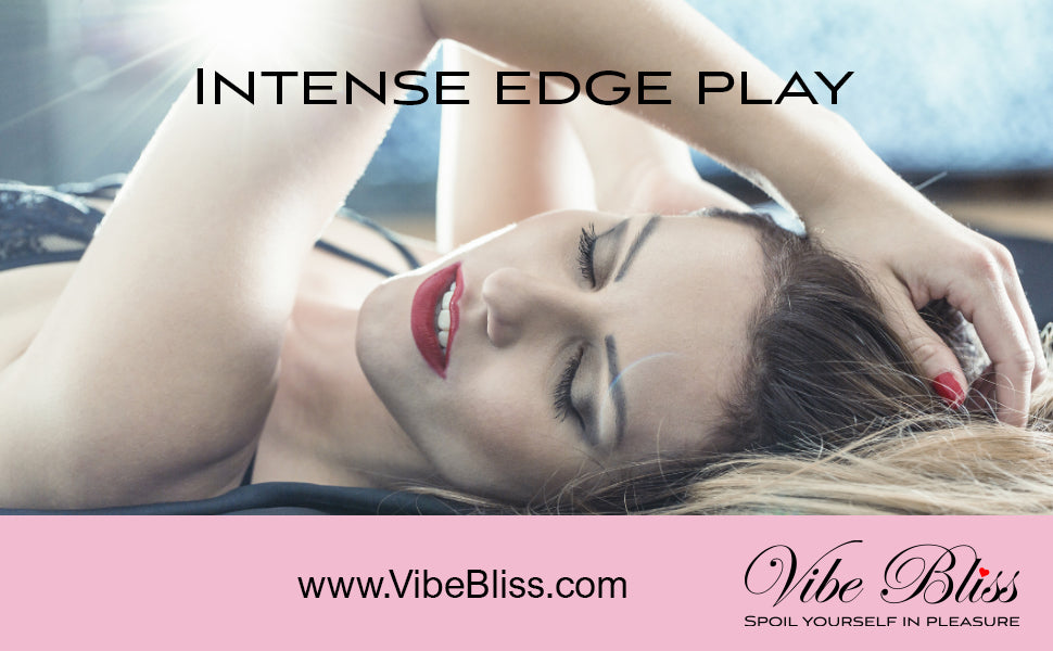 Remote sex toy for intense edge play