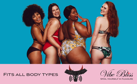 Vibrating underwear fits all body types