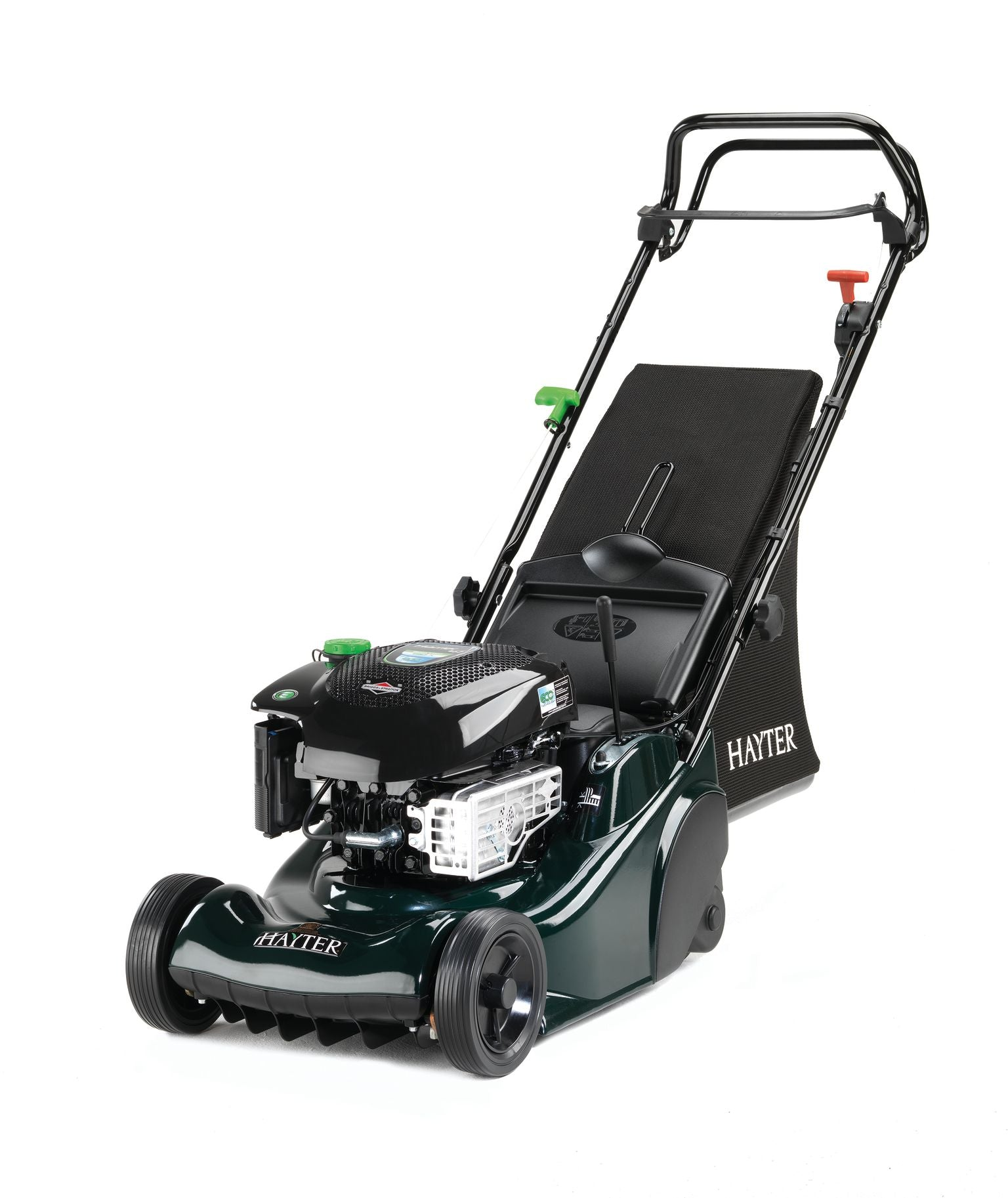 Hayter Harrier 41 cm Roller Driven Lawnmower With Variable Speed & Electric Start