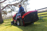 "Countax B65-4WD Garden Tractor with  42"" Deck & Grass Collector"