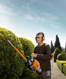 Stihl HS 82 T Professional hedge trimmer with 2-Mix engine technology