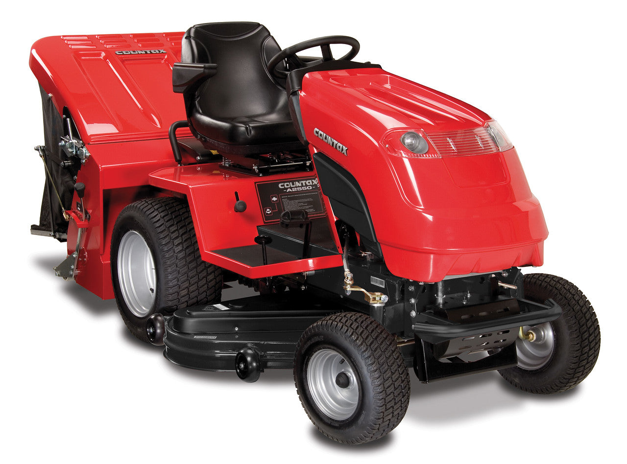 "Countax A25-50HE Large Garden Lawn Tractor With 50"" Deck &  Grass Collector"