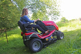 "Countax C80 Garden Tractor fitted with 36""High Grass Mulch Deck"