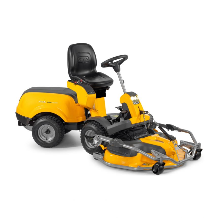 Stiga Park 740 PWX  Front Cut Ride Ride On Mower-110cm Pro Elect Quick Flip Deck 4WD