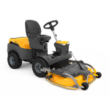 Stiga Park 620 PW Out Front Ride On Mower-100cm Electric Quick Flip Deck