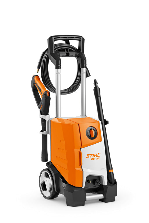 Stihl RE 120 Strong High-Pressure Cleaner- Now With FREE Patio Surface Cleaner