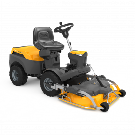 Stiga Park 320PW Out Front Ride On Mower-100cm Electric Quick Flip Deck