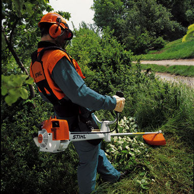 Petrol Powered Brushcutter and Strimmer