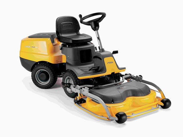 Stiga Park 220  Out Front Ride on Mower with 95cm Electric Quick Flip Deck