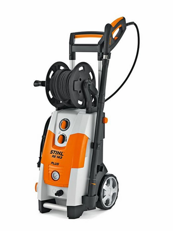 Stihl RE 143 PLUS-Powerful Cold Water Pressure Washer With Hose Reel