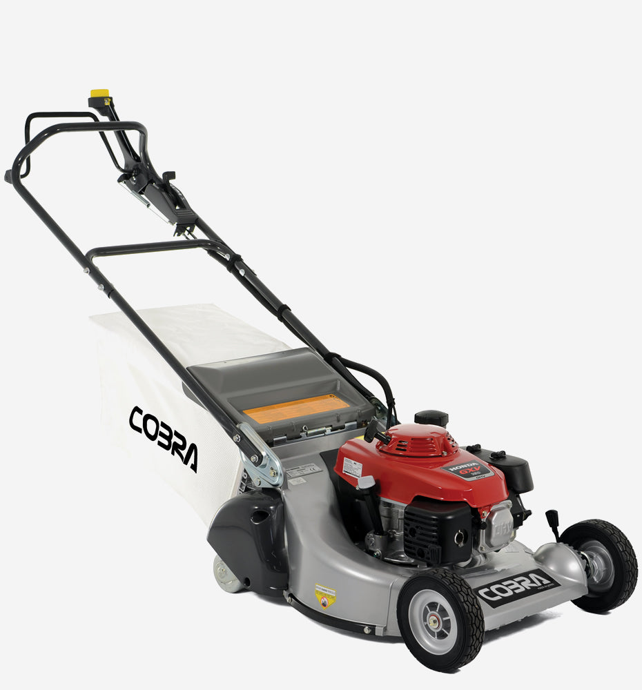 "Cobra RM53SPH Honda Powered 21"" Petrol Powered Rear Roller Lawnmower"
