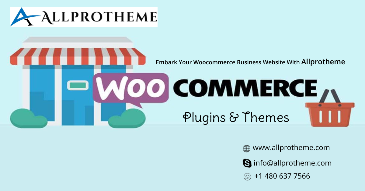 Embark Your Woocommerce Website With Allprotheme Woocommerce Plugins & Themes