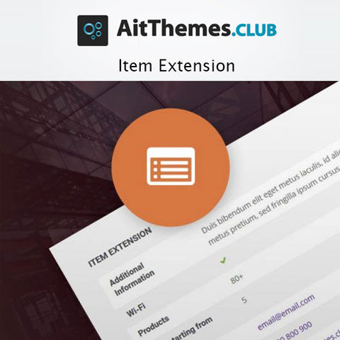 AIT Item Extension