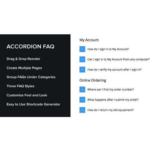 Accordion FAQ WordPress Plugin