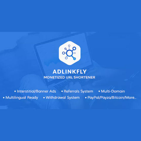 AdLinkFly – Monetized URL Shortener