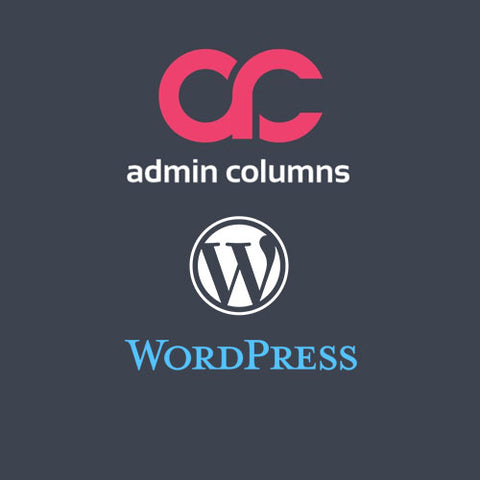 Admin Columns Pro WordPress Plugin