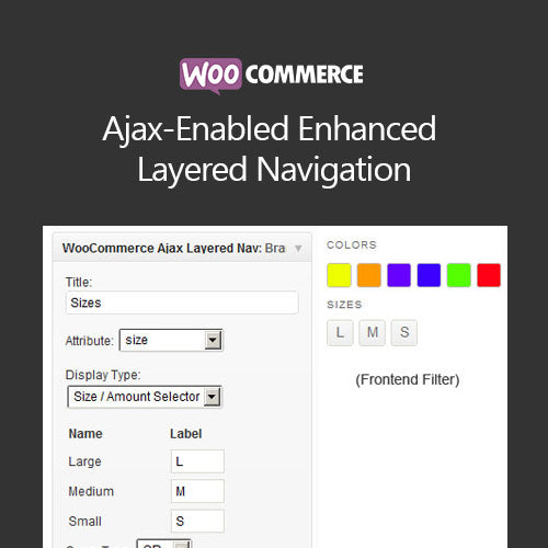 WooCommerce Ajax-Enabled Enhanced Layered Navigation