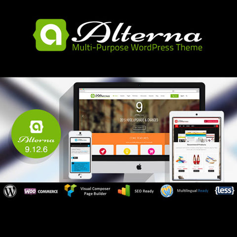 Alterna – Ultra Multi-Purpose WordPress Theme