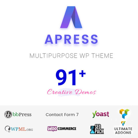 Apress – Responsive Multi-Purpose Theme