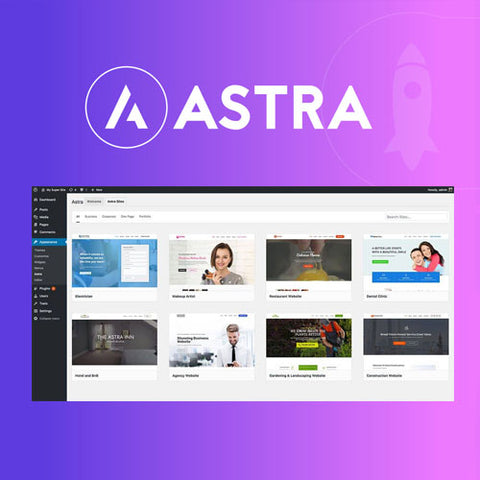 Astra Premium Sites Plugin + Agency Demos